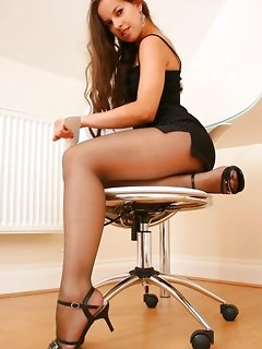 Perfect girls in pantyhose