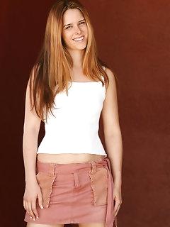 Perfect girls wearing miniskirts
