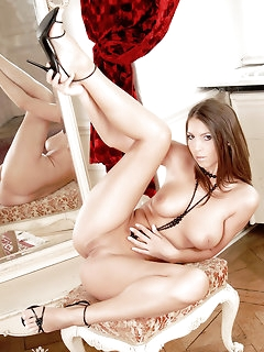 Sexy pierced naked girls